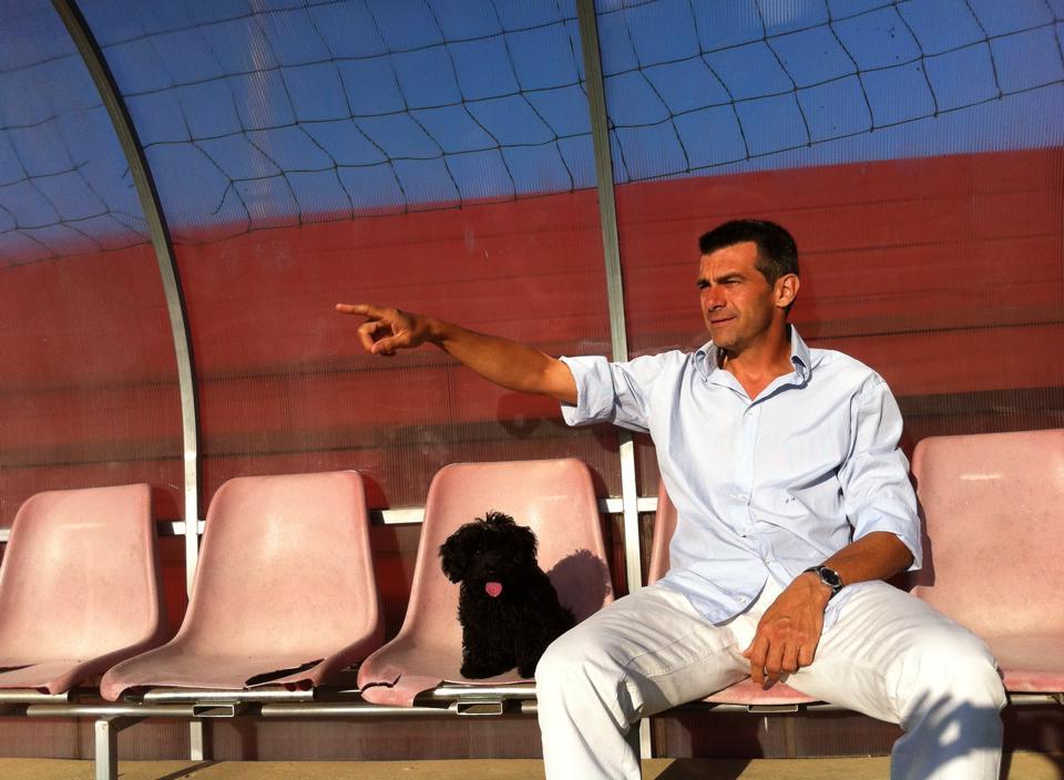 """Simone Altobelli, il Mister """"SUPREME"""" della sua nuova scuola calcio L'A.S.3 SUPREME SOCCER ACADEMY"""