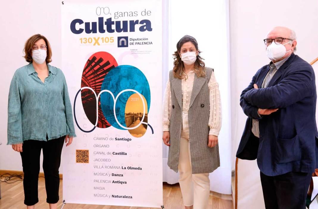 presentacion programa ganas de cultura Diputación de Palencia 2021
