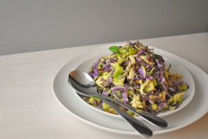 CHOPPED CABBAGE SALAD