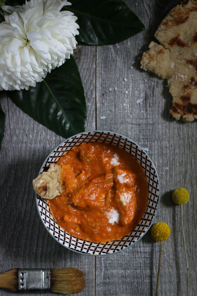 Paleo Butter Chicken! Wonderfully rich with a hint of heat, this healthier version of your favourite classic Indian dish will have you begging for more!