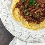 Slow Cooker Bolognese Sauce: Paleo & Whole30 Approved
