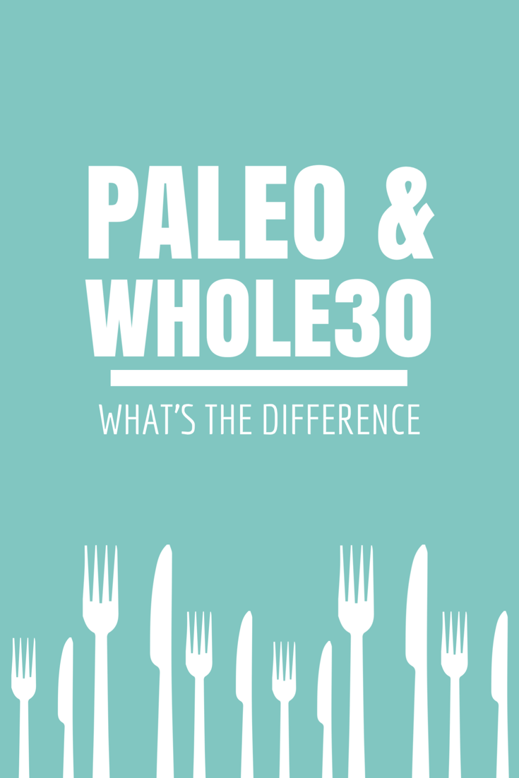 what's the difference between paleo and whole30