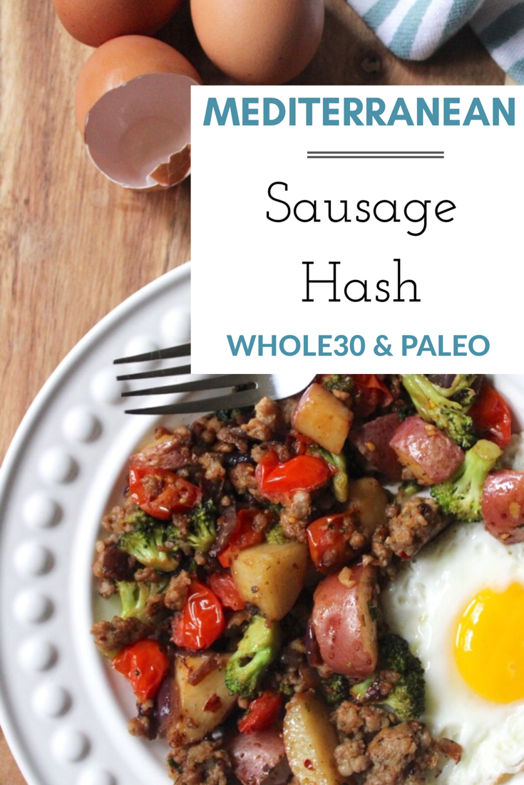 This is the easiest Whole30 egg free breakfast hash! I rarely meal prep my breakfasts, whether on a round of Whole30 or just eating Paleo. But, when I do prepare breakfasts for the week, I do it in the form of this breakfast hash. In 30 minutes you'll have breakfast meal prepped, or a family friendly Whole30 and Paleo meal!