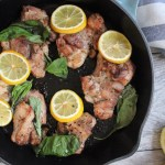 Lemon and Basil Chicken Thighs: Paleo and Whole30