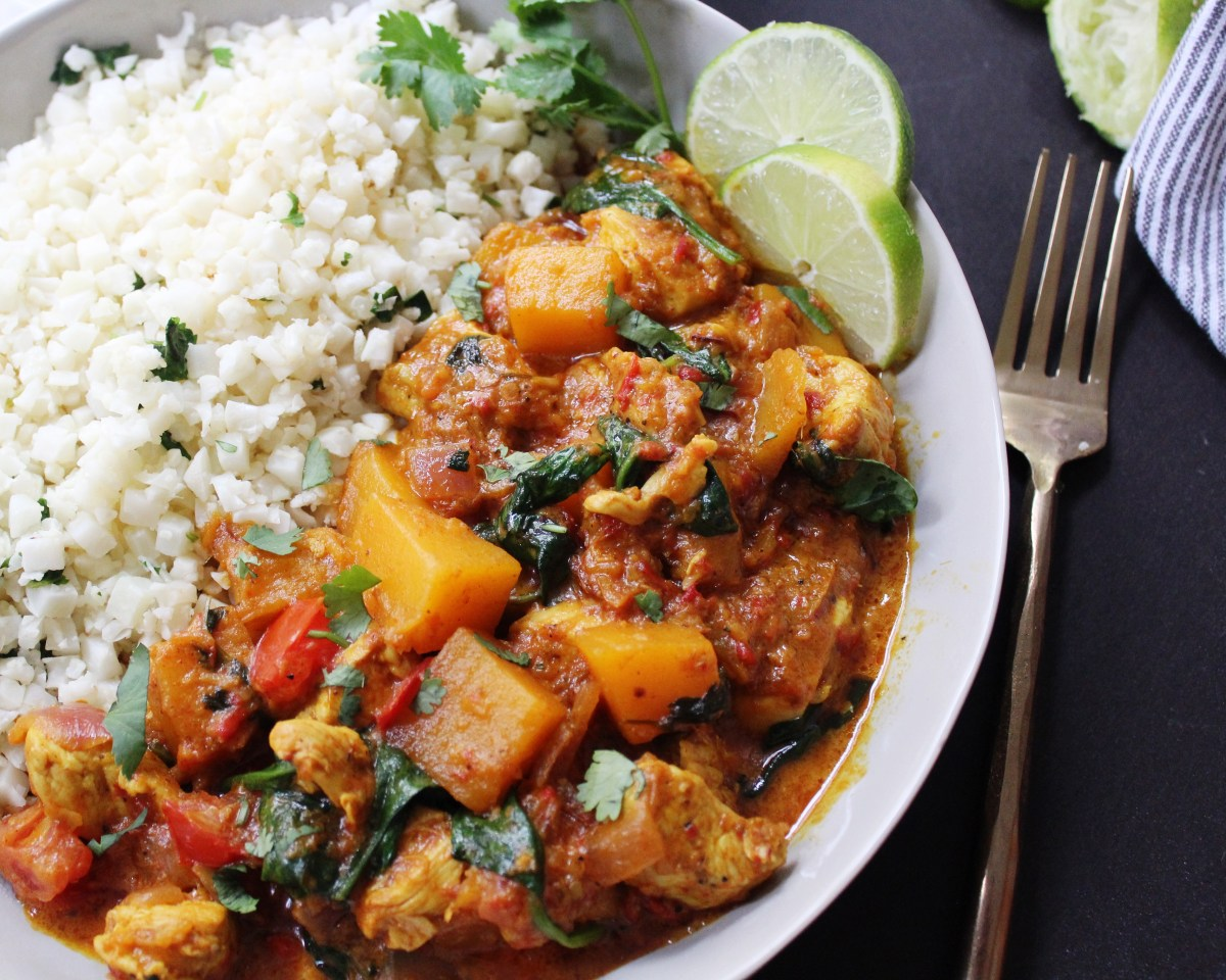 Butternut Squash Curry: 20 Minute Dinner