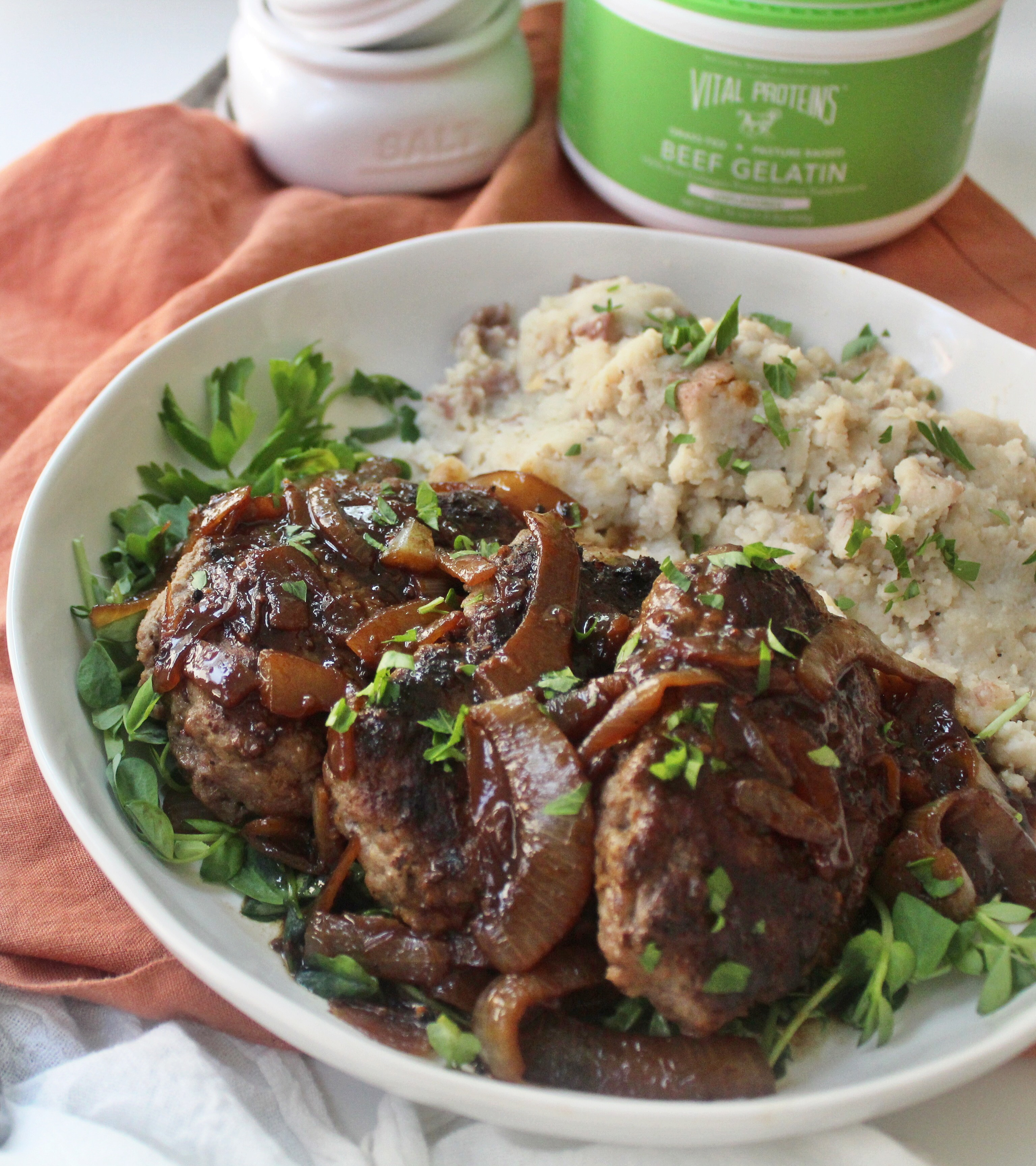 healthy Salisbury steak