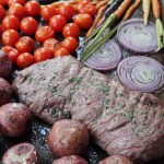 Butter Herb Whole30 Steak and Veggies Sheet Pan Meal: Paleo & 30 Minutes!