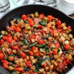 Bacon and Veggie Egg-Free Paleo Breakfast Skillet: Whole30, Easy Meal Prep