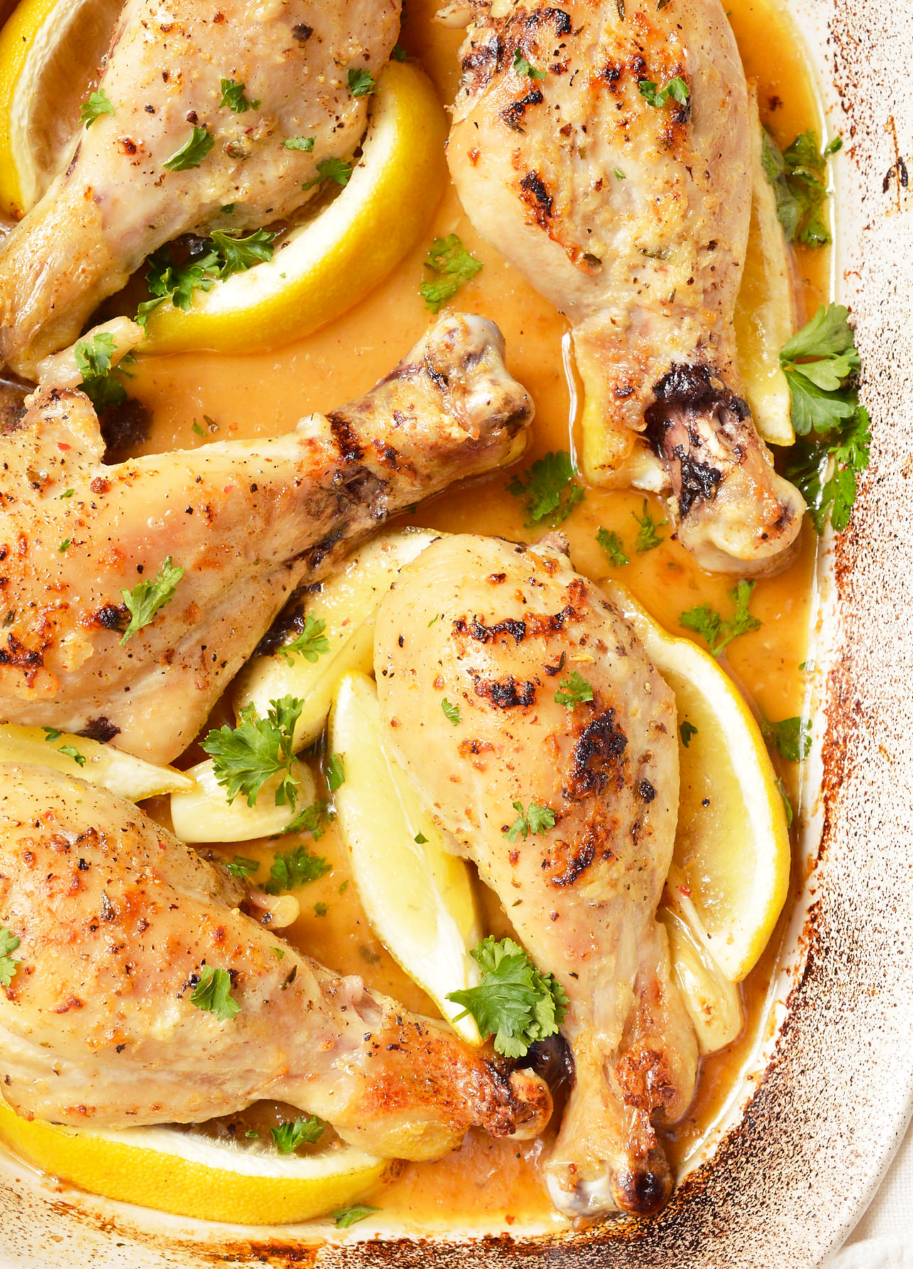 garlic lemon chicken drumsticks