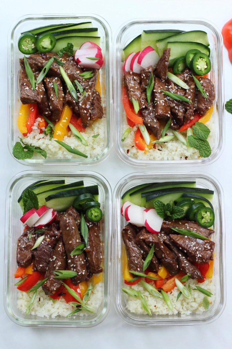 Korean Beef Bowls for Quick Meal Prep: Paleo, Whole30 & Low Carb
