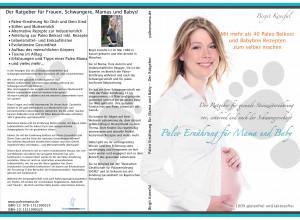 Paleo Ernährung für Mama und Baby - Frontseite und Rückseite