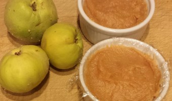 Dulce de Membrillo Thai Style (Quince Paste)