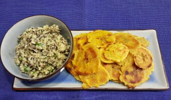 Tostones with Artichoke and Black Olive Tapenade