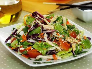 Chicken Salad with Sesame Lime Dressing
