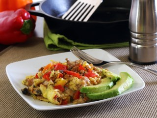 Paleo Olé Egg Breakfast
