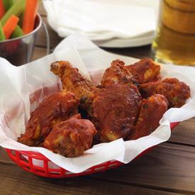 Crockpot Paleo BBQ Chicken Wings Recipe