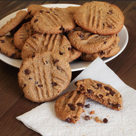 """Peanut Butter"" Chocolate Chip Cookies Recipe"