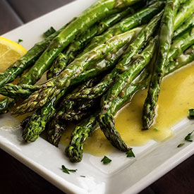 Roasted Asparagus with Lemon Vinaigrette Recipe