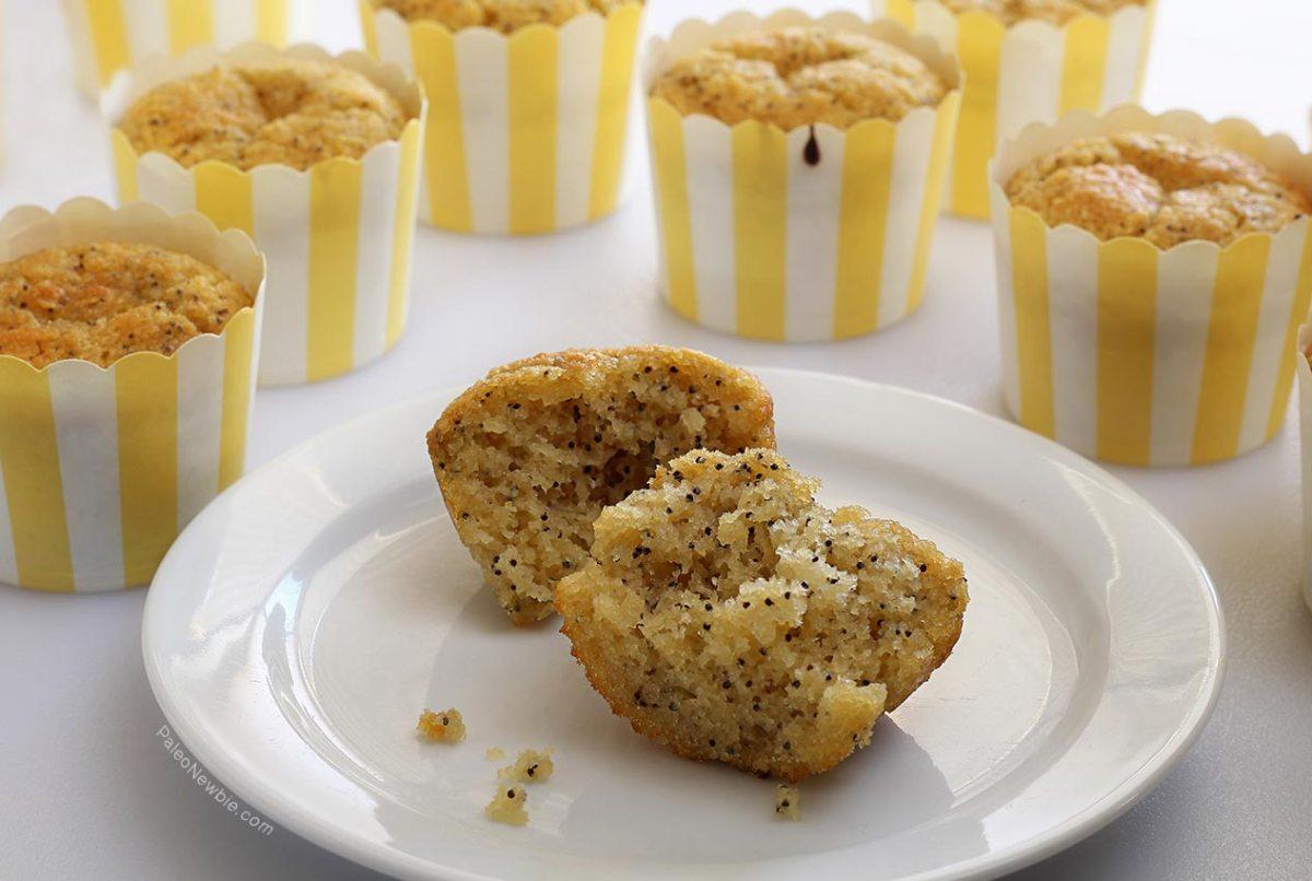 Paleo Lemon Poppy Seed Muffins Recipe