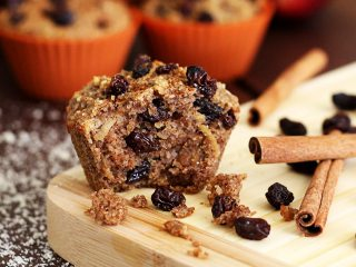 Cinnamon Raisin Harvest Muffins
