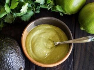 Paleo Avocado-Cilantro-Lime Sauce