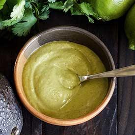 PaleoNewbie-Cilantro-Lime-Avocado-Sauce Recipe