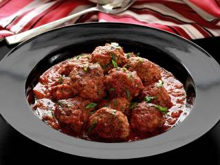 Crock Pot Italian Meatballs in Marinara Sauce