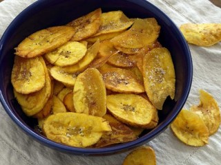 Easy Paleo Plantain Chips