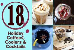 18 holiday drink recipes - roundup from paleonewbie.com