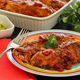 Slow Cooker Chicken Enchiladas Recipe