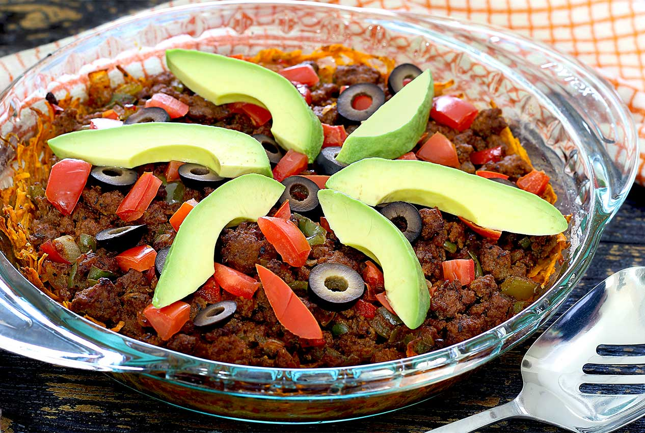 paleo taco casserole recipe