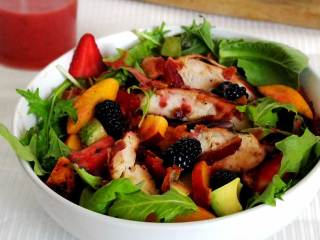 Paleo Strawberry Vinaigrette