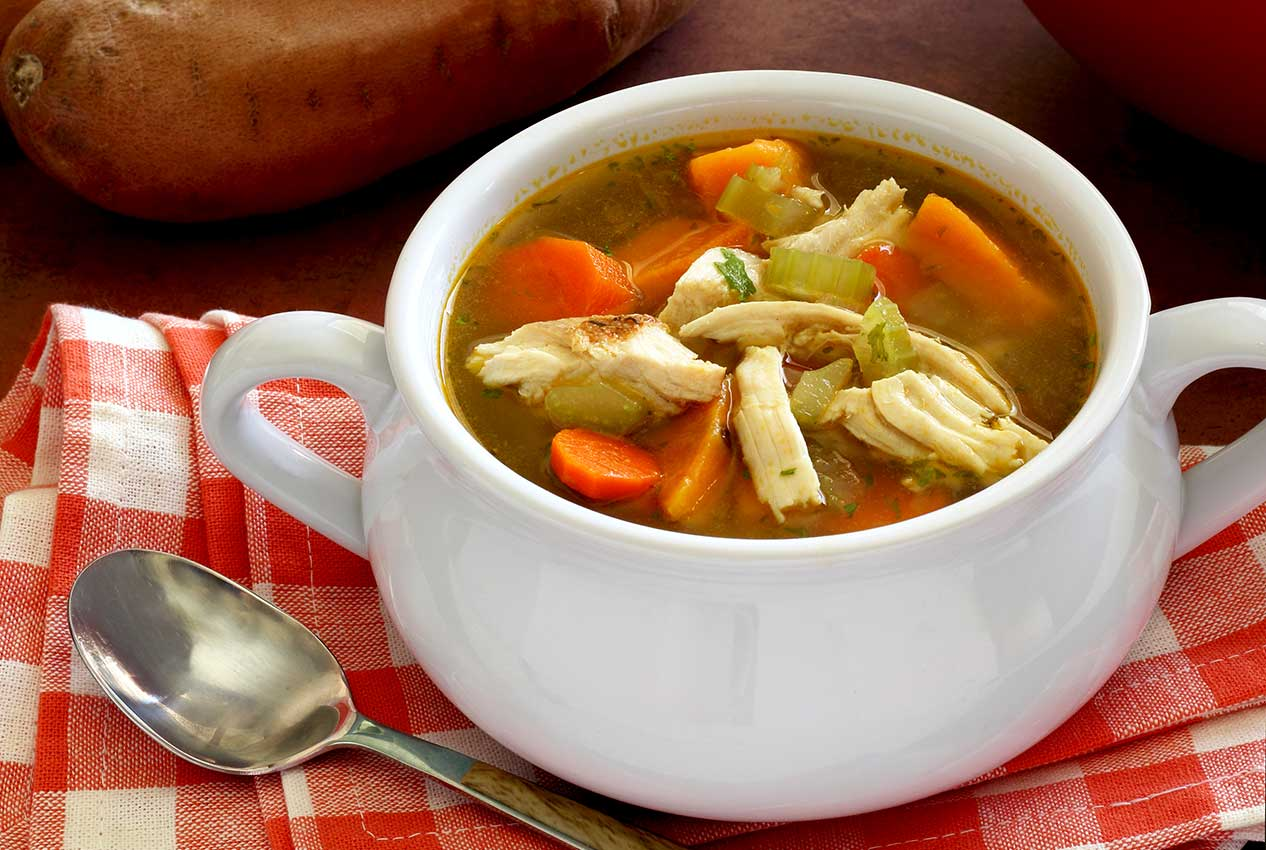 best paleo recipe for turkey and vegetable soup