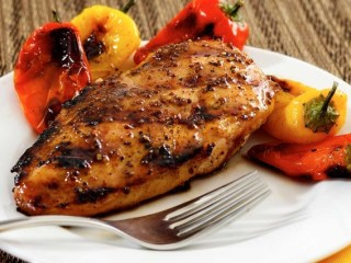 Paleo Maple & Mustard Grilled Chicken