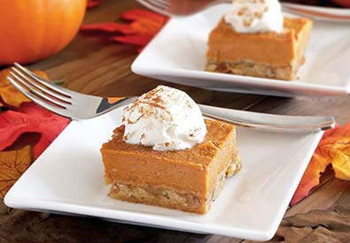 Paleo Pumpkin Pie Bars Recipe