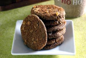 easy recipe for paleo ginger snap cookies