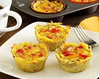easy paleo recipe for sweet potato egg cups