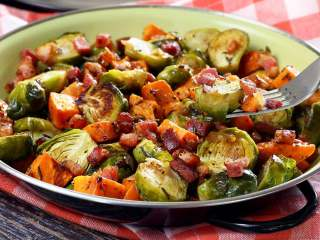 "Roasted Brussels Sprouts ""Flavor Bombs"""