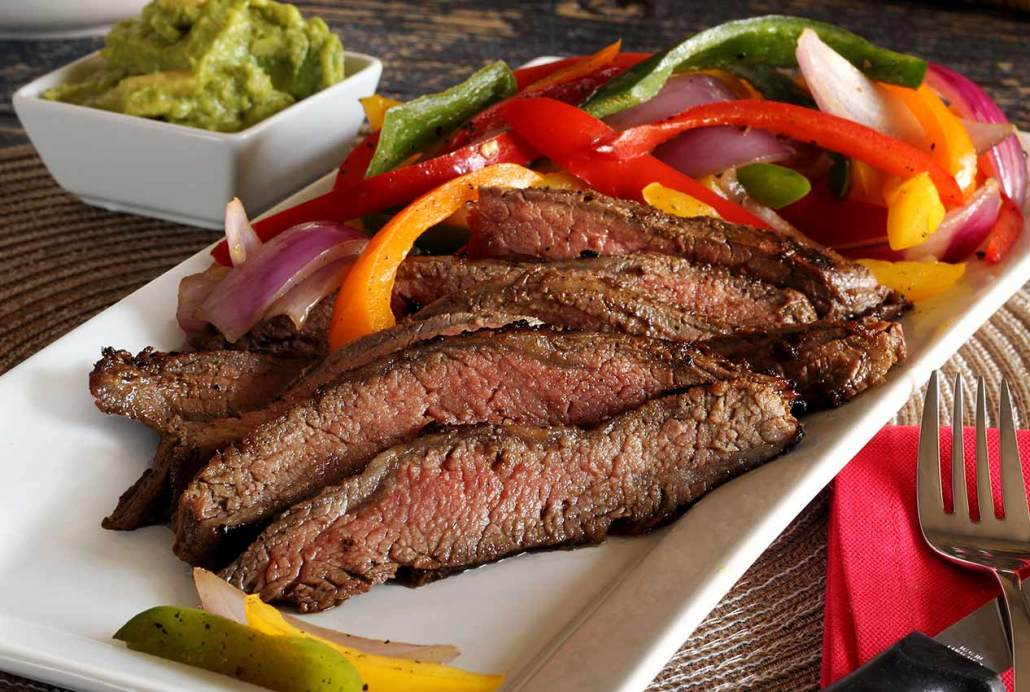 Marinated Paleo Flank Steak Recipe with Grilled Veggies