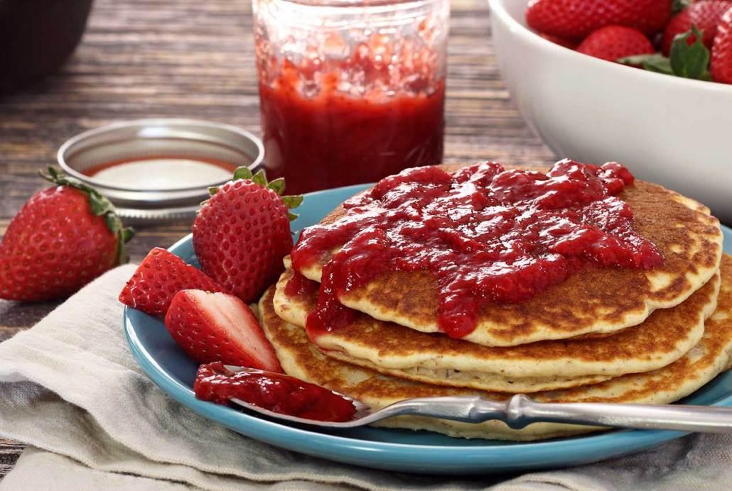 Quick & Easy Paleo Strawberry Jam