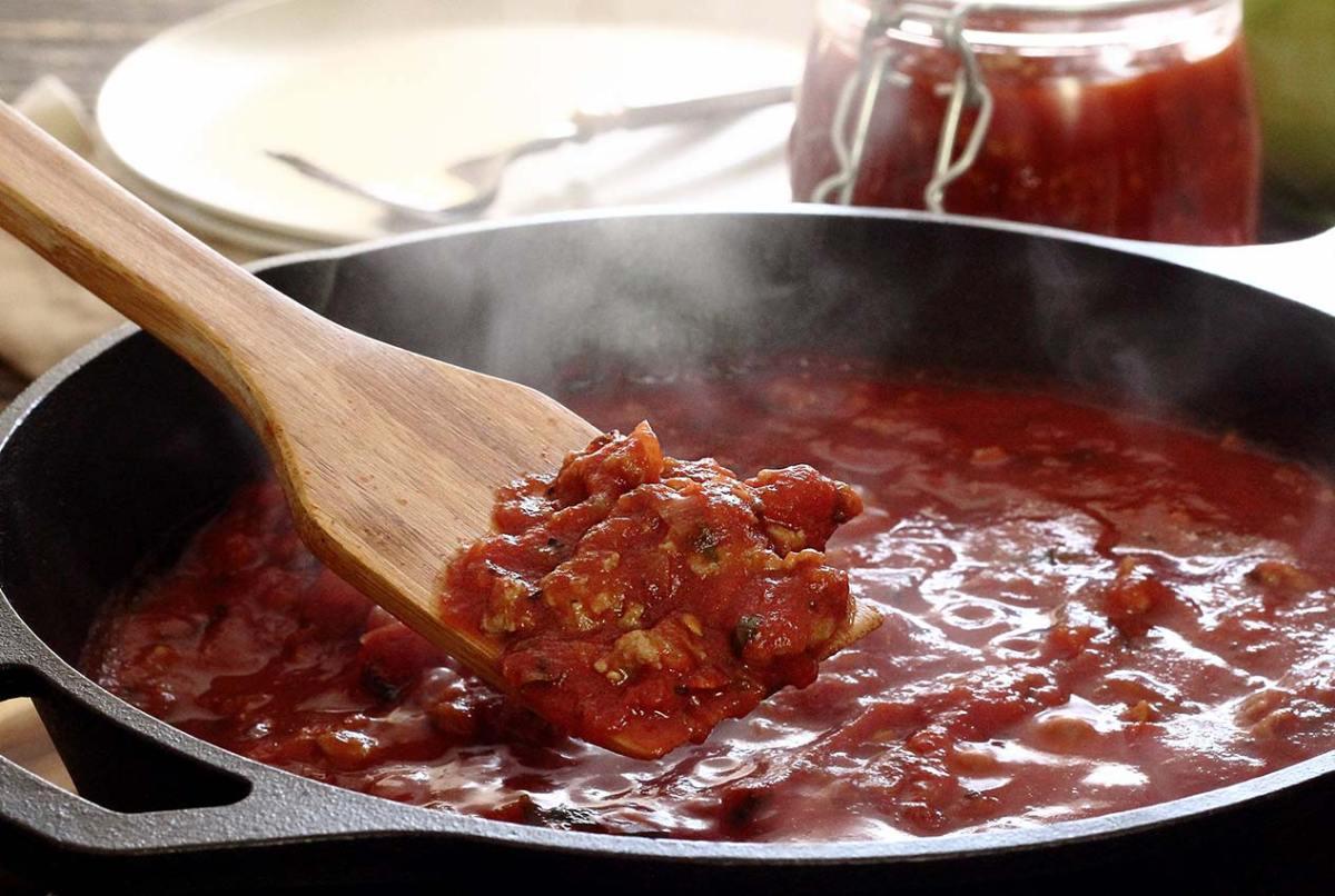 easy paleo recipe for marinara meat sauce