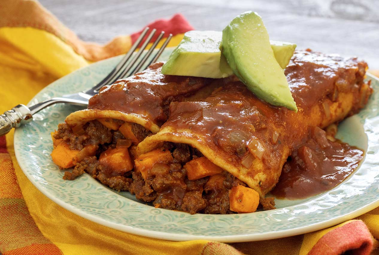 easy paleo recipe enchiladas