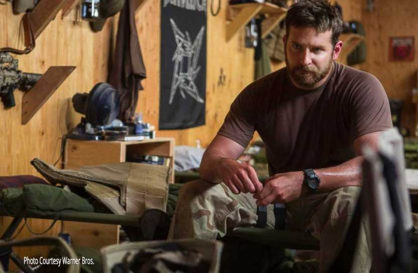Bradley Cooper in American Sniper. Photo: Warner Bros.
