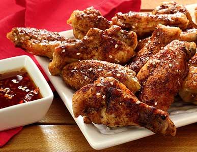 easy paleo recipe Asian chicken wings