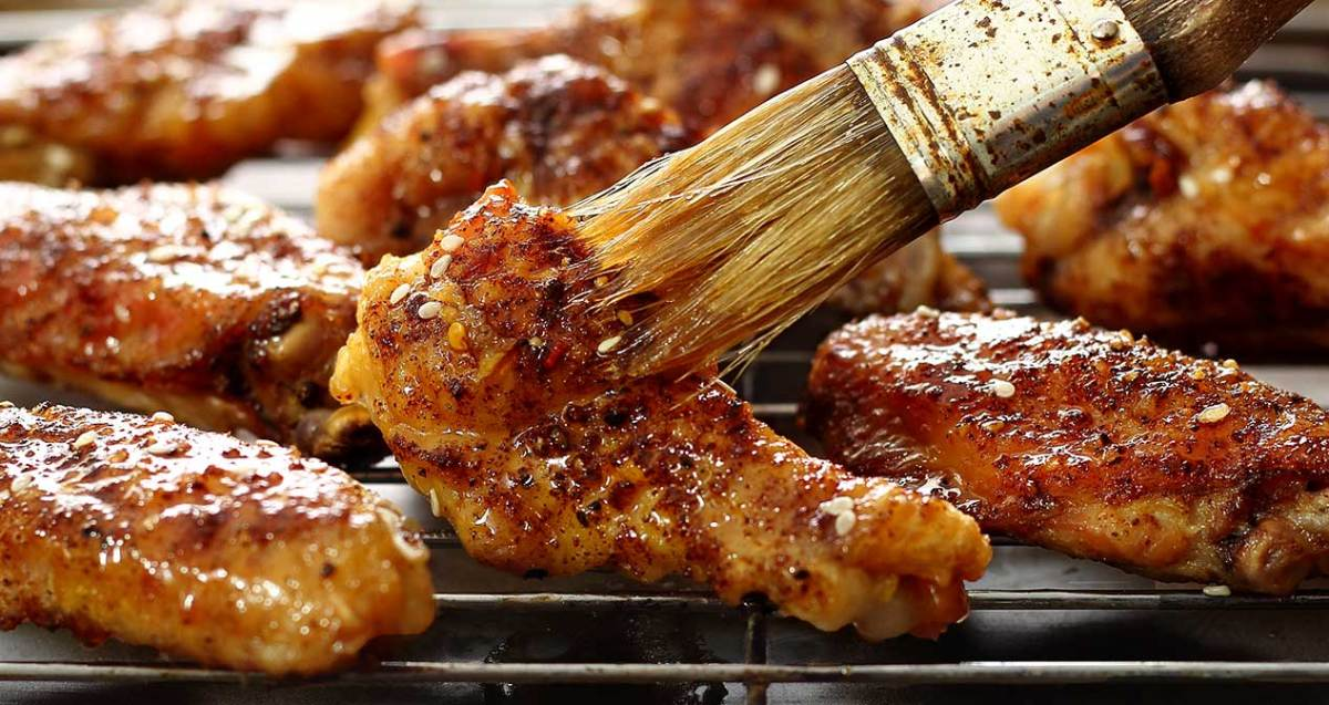 simple paleo recipe for Asian-inspired chicken wings