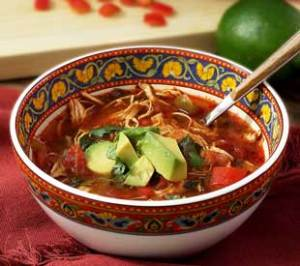 easy paleo recipe for a gluten free slow cooker chicken fajita soup