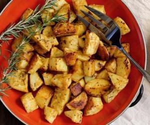 easy paleo recipe for mustard potatoes
