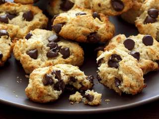 Paleo Macadamia-Coconut Chocolate Chip Cookies