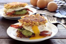 easy paleo recipe for hash brown breakfast sliders