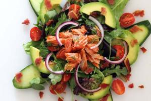 easy paleo recipe for smoked salmon salad